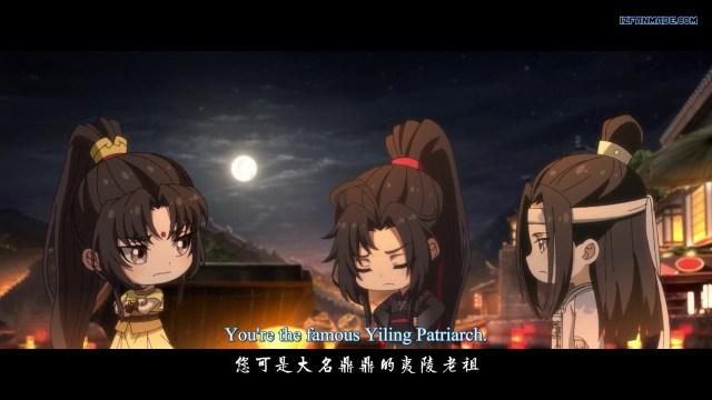 Mo Dao Zu Shi Q - The Founder of Diabolism Q ( chinese anime donghua ) episode 29 english sub
