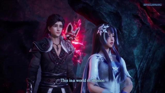Liu Xing Huan Jian - Meteor Magic Sword (chinese anime donghua 2021 ) season 1 episode 18 english sub