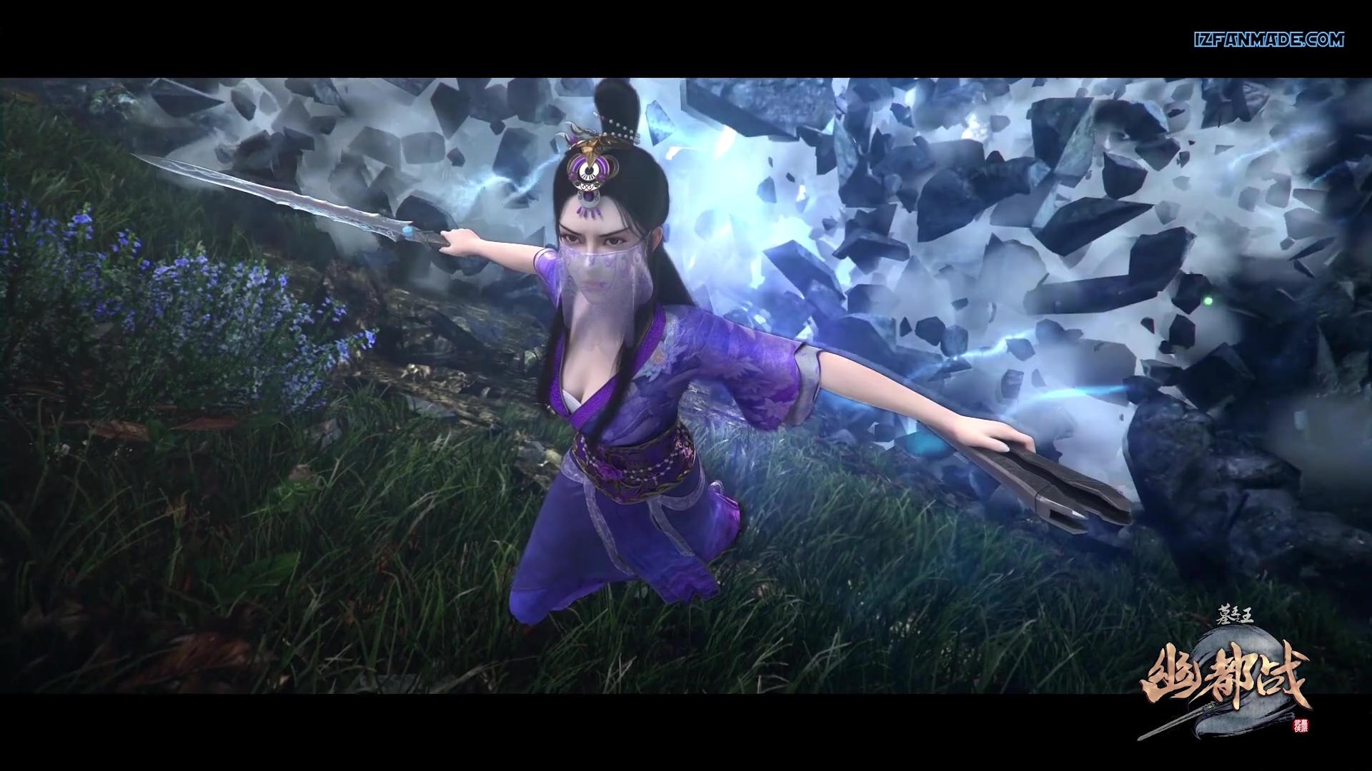 Mu Wang Zhi Wang You Du Zhan - Great King of the Grave Season 4 (chinese anime donghua ) episode 13 ( episode 74 ) english sub