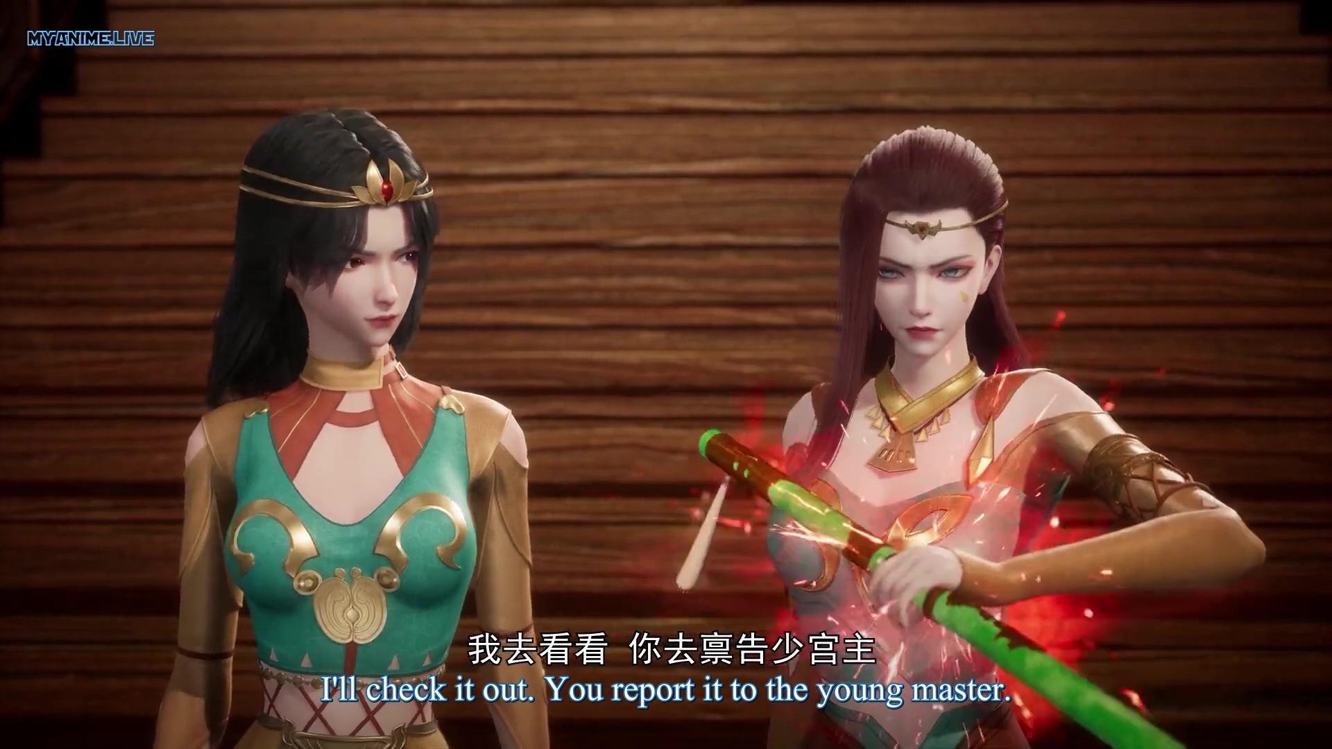 Kuang Shen Mo Zun - Mad Demon Lord episode 37 english sub