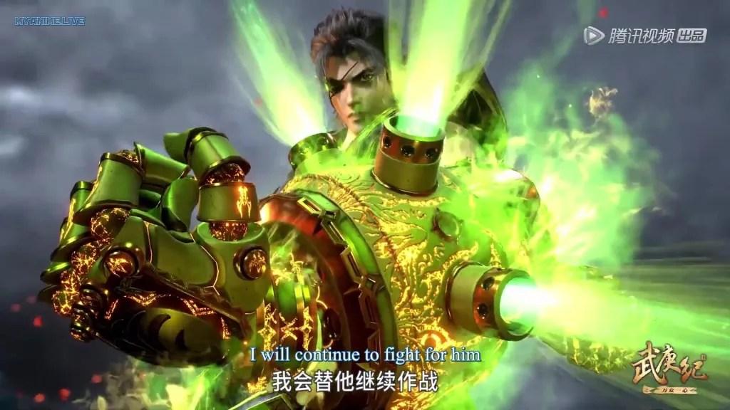 Wu Geng Ji 4th season episode 09 ( episode 123 ) english sub