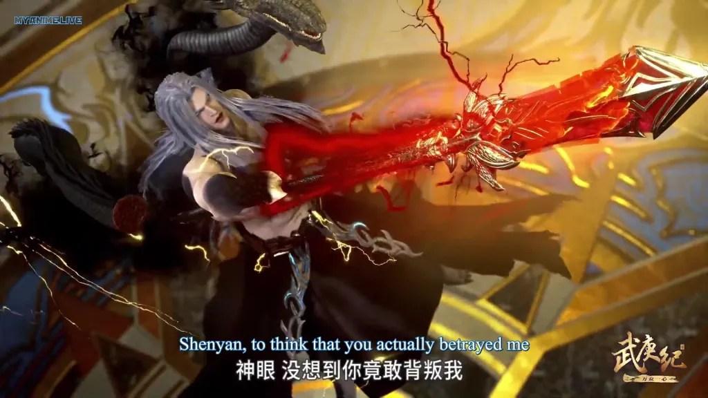 Wu Geng Ji 4th season episode 10 ( episode 124 ) english sub