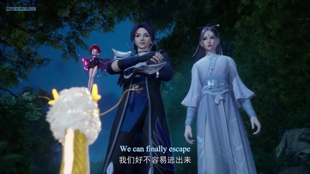 Wan Jie Xian Zong - Wonderland Season 5 episode 31 ( episode 207 ) english sub