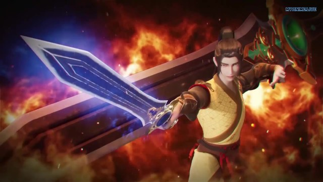 Wu shen zhu zai - Martial Master episode 170 english sub