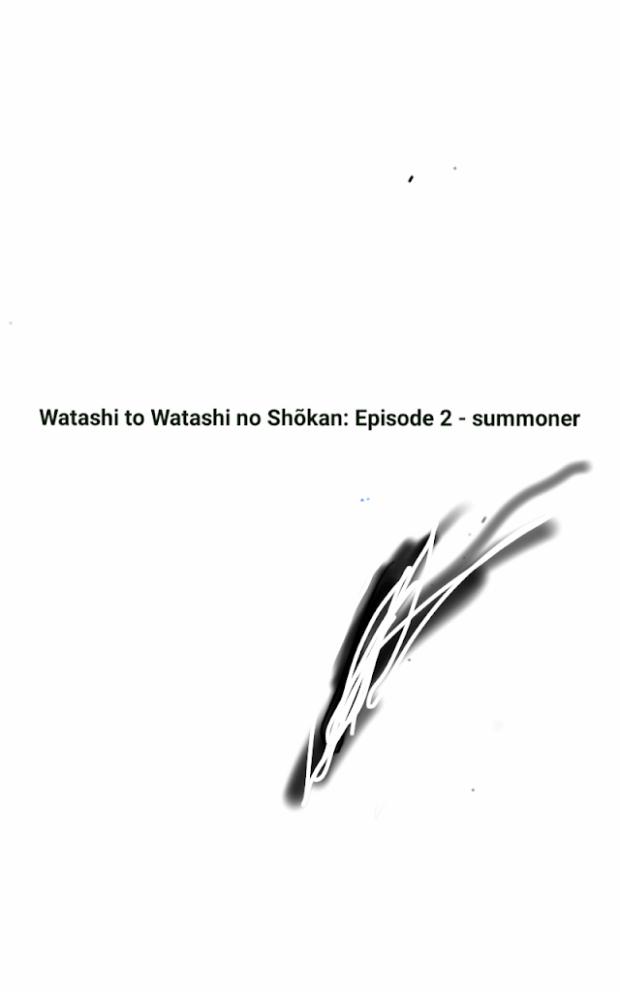 Picture of Light Novel Watashi to Watashi no Shōkan: Episode 2 - Summoner