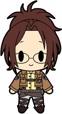 D4 Attack On Titan Rubber Keychain Collection Vol1 Hanji