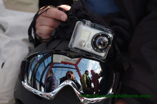 Self-Portrait with GoPro and Pentax