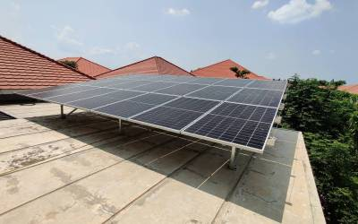 Residential Rooftop Solar Plant in Mandalay