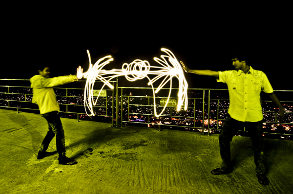 light painting power