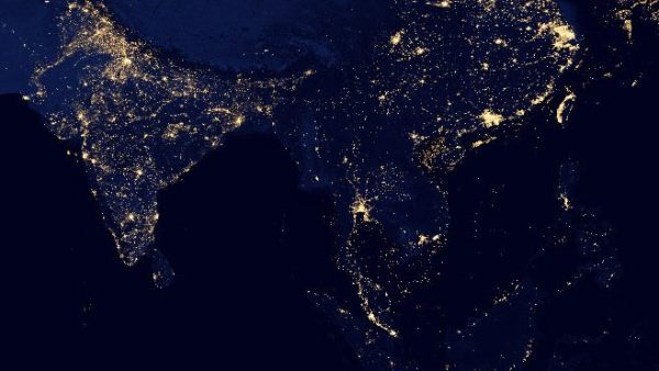 Night View Burma