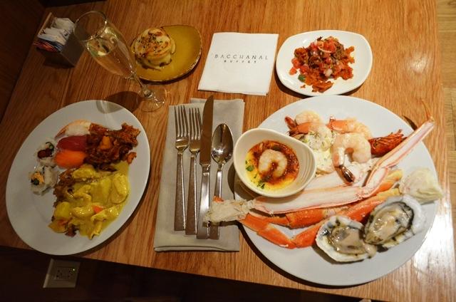 14 ဒါက Bacchanal Buffet မွာ အဘ ရဲ႕ Main Dish / Meal ။