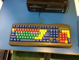 Colorful keyboard for kids