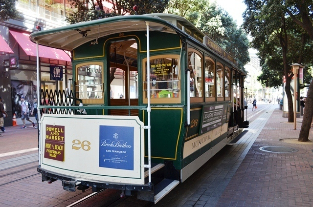 20. San Francisco ေရာက္မွဘဲ ၊ Cable Car / Tram ကို ပံုစံမ်ိဳးစံု ေတြ႕ရေတာ႕တယ္ 4 ။