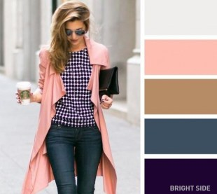 Great for a pink coat