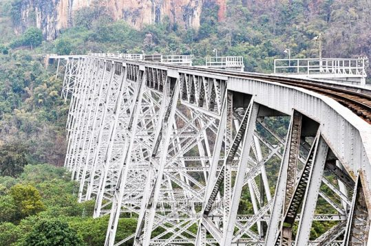 GokehteikViaduct,Northern Shan State