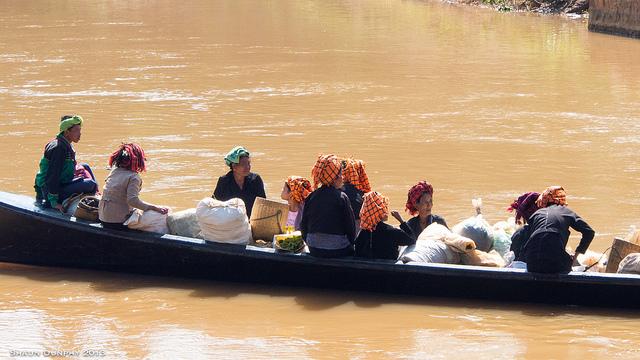 Pa-O women Myanmar