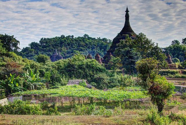 Mrauk-U Myanmar