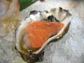 Kumamoto oyster.