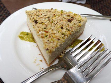 bhapa doi cheesecake