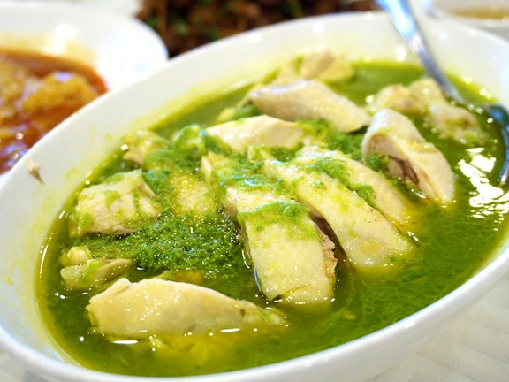 Chengdu Taste: Chicken in Spring Onion Sauce