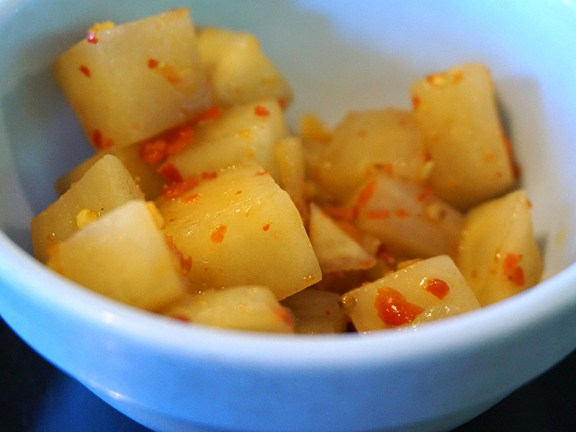 Hunan Mao: Pickled Radish