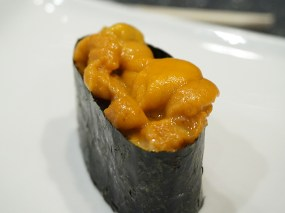 Encouraged by the ikura I took a chance on the Hokkaido uni and this was really quite good. I really should have stopped here...