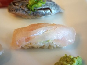 Ditto for the hirame/halibut.