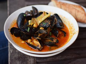Grand Cafe: Mussels