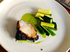 The Clove Club: Roasted Monkfish
