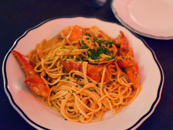 Joe Beef: Spaghetti Homard Lobster