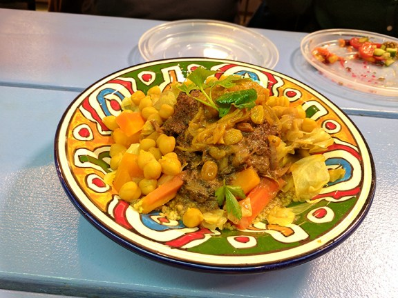 Moroccan Flavours: Beef Couscous