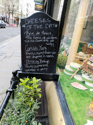 Paxton & Whitfield: Cheeses of the Day (late March)