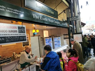 Borough Market: Exotic Meat Company