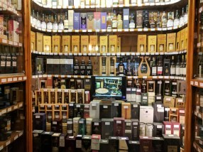 And here is the rest of their selection of premium whiskies.
