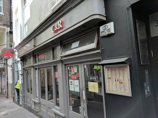 C&R Cafe-Restaurant: Exterior