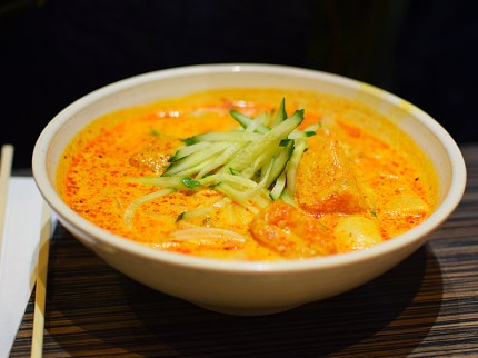But it's the richer Singapore laksa that's more likely to appeal to most people.