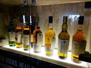 I did like the display of older bottles.
