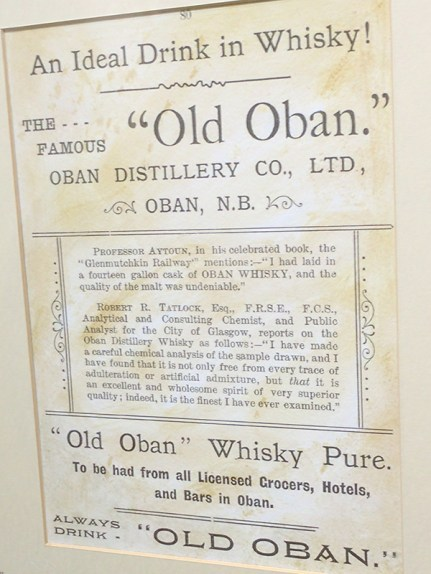 Oban: A closer look