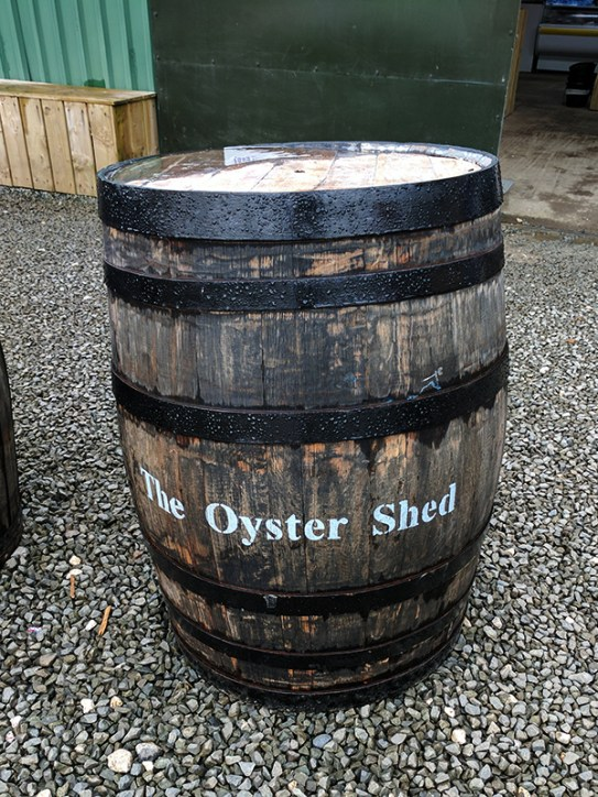 The Oyster Shed: A Talisker cask?