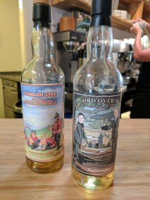Fiddler's: The bottles
