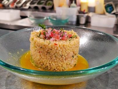 Ceviche: Ensalada de Quinoa