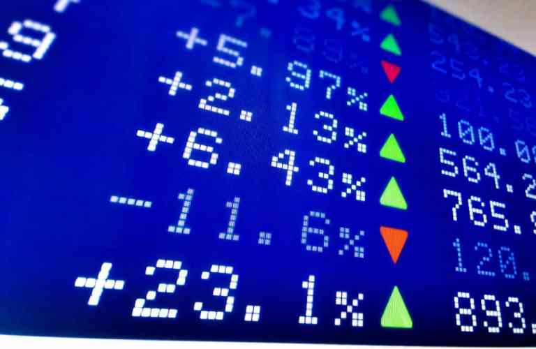 Stock market board - links to is a fixed index annuity right for me