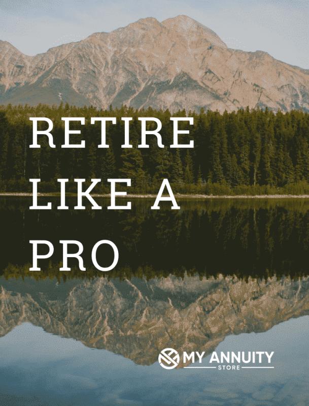 Annuity calculators retire like a pro mountain background - retirement calculators page