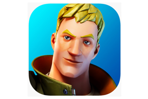 Blonde male fortnight character