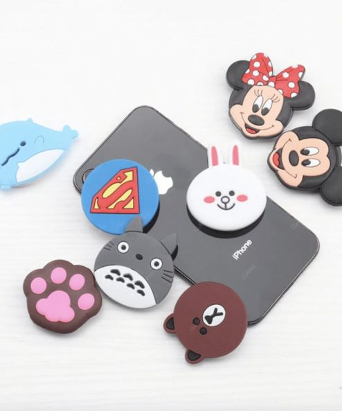 Mickey and Minnie phone holder