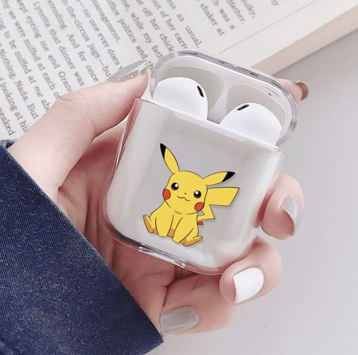 Pokemon Pikachu Patterned Airpod Case