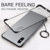 Frameless clear Matte iPhone Cover