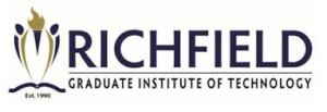 Richfield Graduate Institute of Technology Vacancies