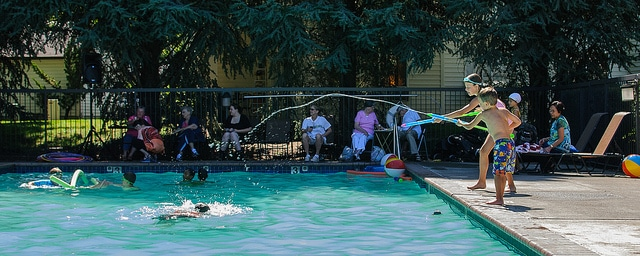 aqua fun pool party