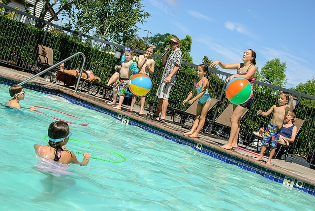 Aqua Fun end of Summer Pool Party
